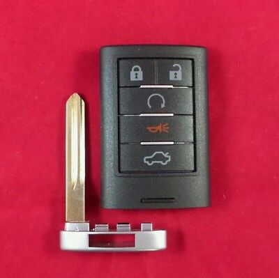 Re-Cased Cadillac CTS STS Smart Key Keyless Prox M3N5WY7777A