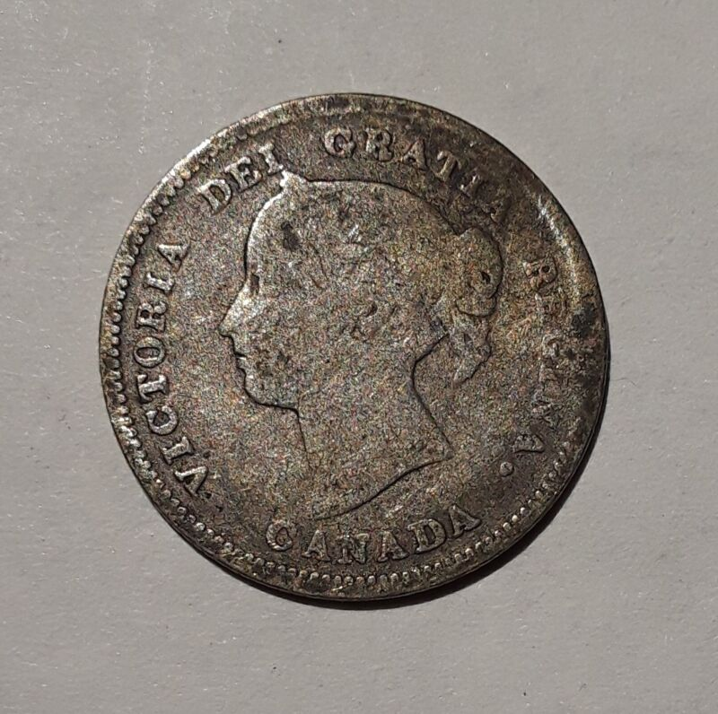 Canada 1885 5 Cents KM2