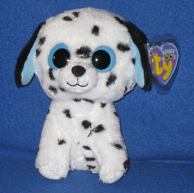 TY BEANIE BOOS BOO'S - FETCH the DALMATIAN - MINT with MINT TAGS