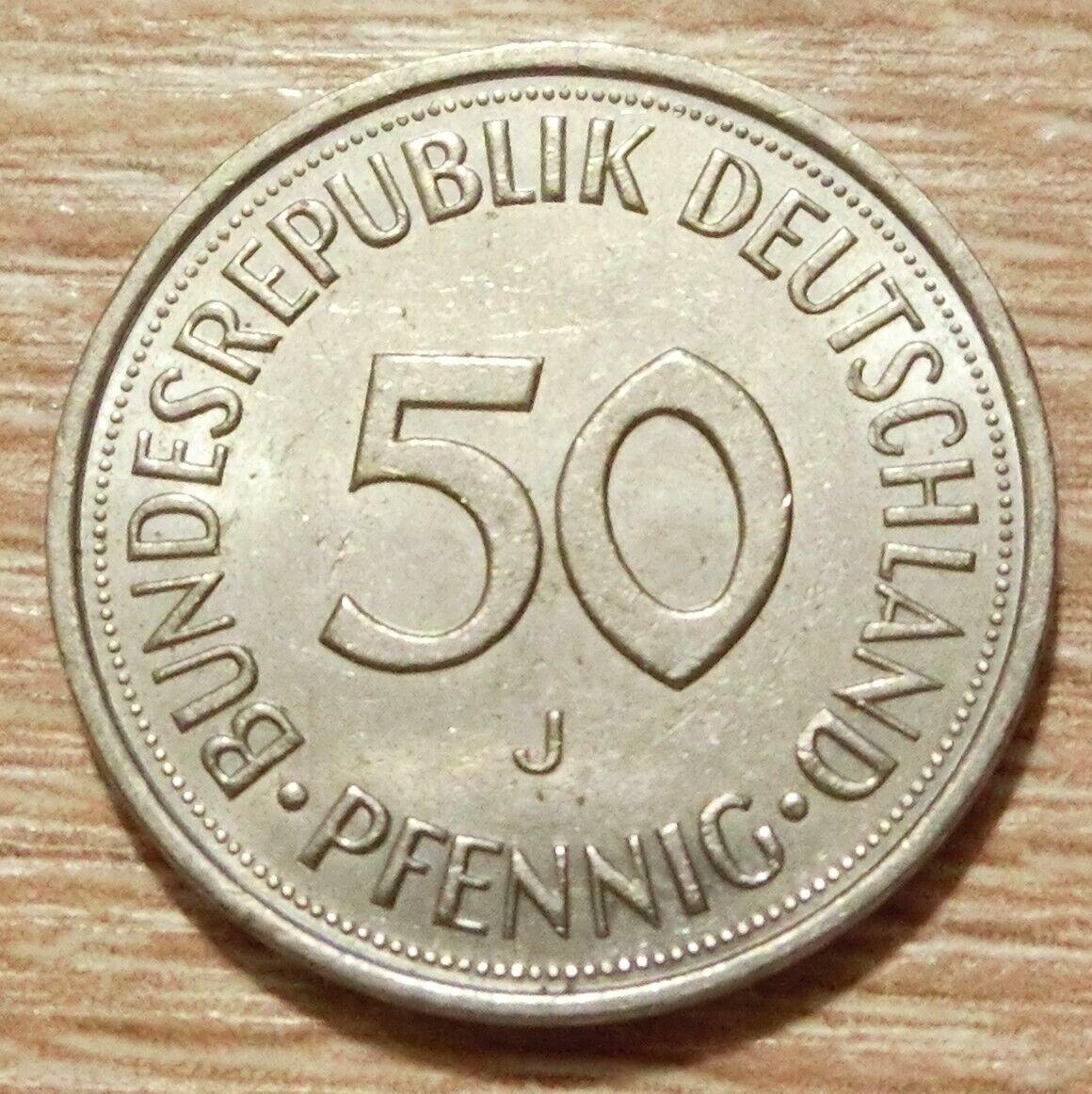 Bundesrepublik Deutschland 50 Pfennig 1991 J - 1,00 €