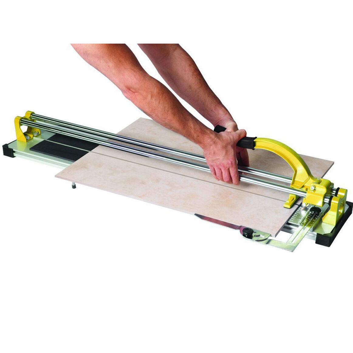 Manual Tile Cutter for Porcelain and Ceramic Cutting Wheel Flooring Tool 35in