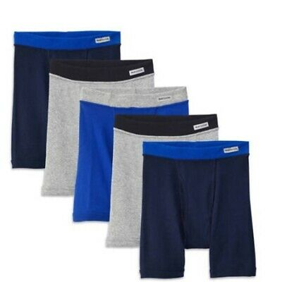 Fruit of the Loom 5Pack Boys Assorted ComfortSoft Boxer Briefs