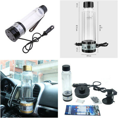 Car SUV Electric Water Milk Boiler Auto Heating Warming Vacuum Cup 12V/24V 280ML