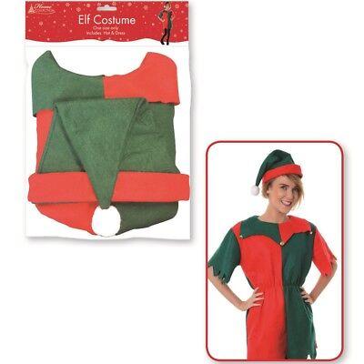 75cm Erwachsene Damen Elfe Kostüm Weihnachten Schickes Kostüm Party Hut - Erwachsene Weihnachten Elfen Kostüme
