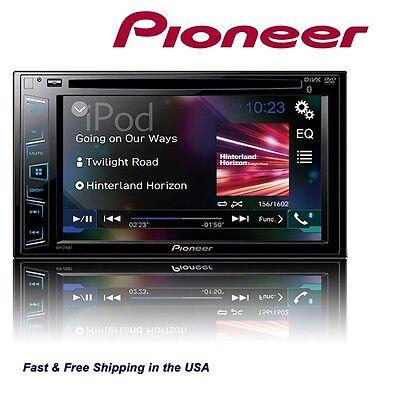 "Pioneer Double Din AVH290BT USB/DVD/MP3/CD Player 6.2"" Touchscreen Bluetooth NEW"