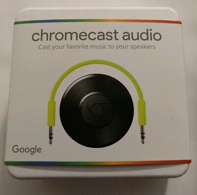 New unopened, Google Chromecast Audio, Wifi media player, Get them while you can