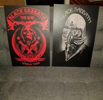 Black Sabbath Poster [2] Concert tour poster 2016 tour Never Say Die 78 tour