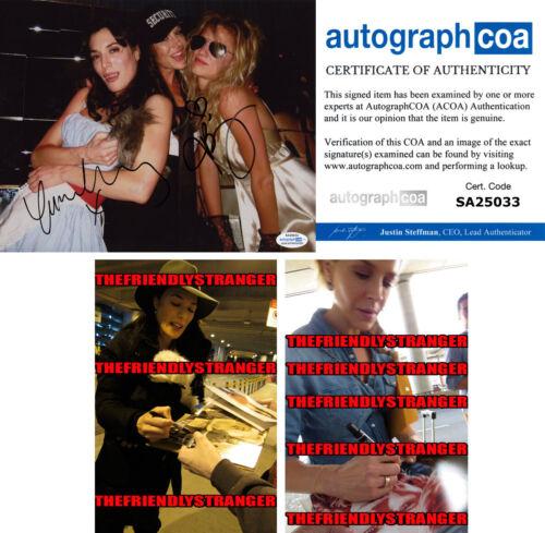 "JAIME MURRAY & JULIE BENZ signed Autographed ""DEXTER"" 8X10 PHOTO Proof ACOA COA"
