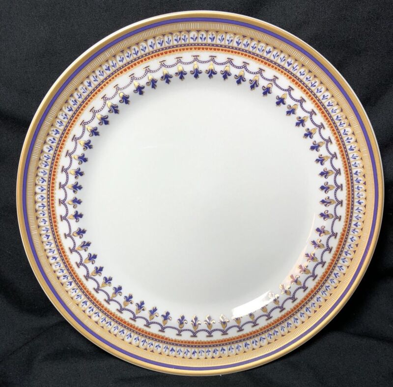 Mottahedeh Chinoise Blue Salad/Dessert Plate ~new~