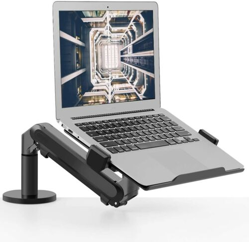 """Laptop/ Notebook, Height Adjustable Single Arm Mount Support 12""""-17.3"""" Laptop"""