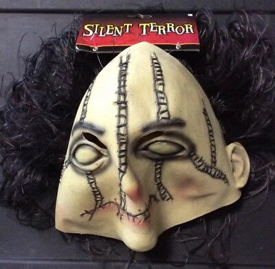 SILENT. TERROR HALLOWEEN MASK  NEW WITH TAGS AWESOME BEST ON MARKET](Halloween Best Masks)