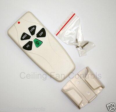 Harbor Breeze Ceiling Fan & Light Wireless Remote Control 1 Year Warranty