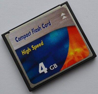 E330 Speicher (4 GB Compact Flash Speicherkarte für Olympus E330)