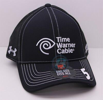 Kasey Kahne   5 Time Warner Cable Osfm Black Under Armour Hat