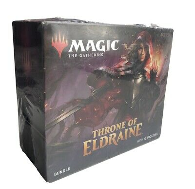 Magic the Gathering: Throne of Eldraine Bundle Box with 10 Booster Packs