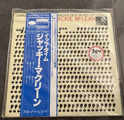 JACKIE McLEAN - IT'S TIME - LP BLUE NOTE 84179 JAPAN EDITION VINYL comprar usado  Enviando para Brazil