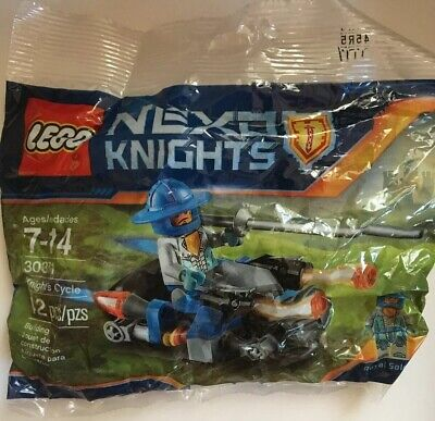 LEGO 30371 Nexo Knights Knight's Cycle w/ Royal Guard Polybag New Sealed