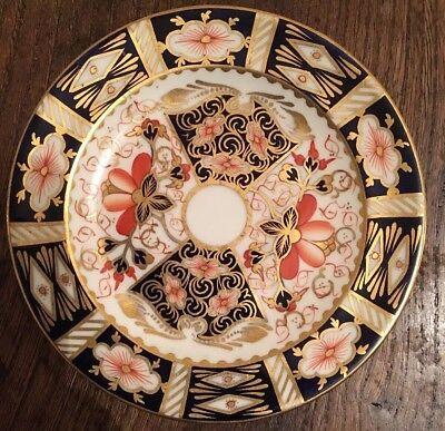 ROYAL CROWN DERBY TRADITIONAL IMARI #2451 BONE CHINA SALAD PLATE
