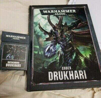 warhammer 40k drukhari army