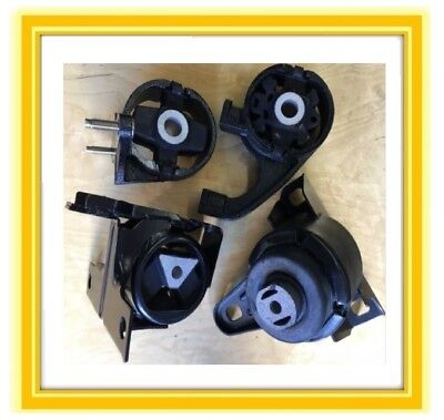 4 Motor Mounts For 1998-2000 Ford Contour 2.5L V6 Automatic Engine & Trans 1999  (1999 Ford Contour Engine Motor)