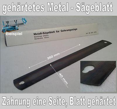 Ersatzsägeblatt für Gehrungssäge, gehärtet für Metalle, feine Verzahnung, 350 mm