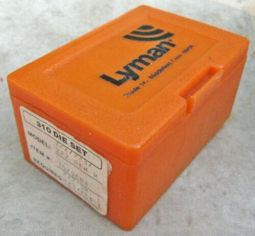 Lyman Die Set 310 - for 222 223 Remington 4 die set
