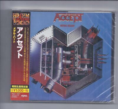 ACCEPT Metal Heart JAPAN cd SICP 6173 sealed