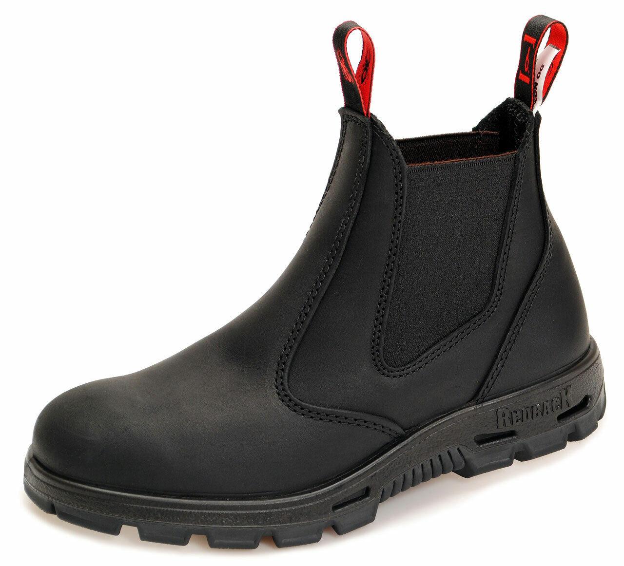 Redback Work Boots Sicherheitsschuh Arbeitsschuh Stahlkappe BUSBBK Black
