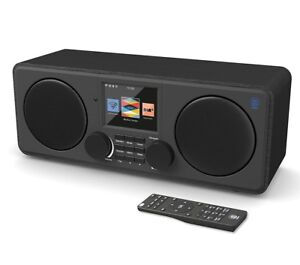 Majority Internet Radio DAB/DAB+/FM Bluetooth USB Charging, Dual Alarm Clock