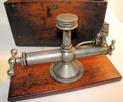 American Steam Gauge Calibrating or Testing Device Used Very Old!