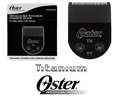 Oster TITANIUM Blade for Pro Cord/Cordless,Mini Max,Vorteq,Teqie,O'Baby Trimmer  segunda mano  Embacar hacia Argentina