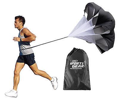 "Sports Agility Training Resistance Running Speed Chute Parachute Medium 48"""