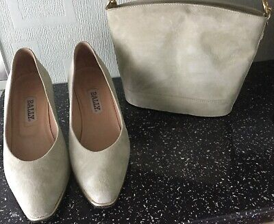 Matching Bally Shoes & Bag In Apple Green Size 38 (5)