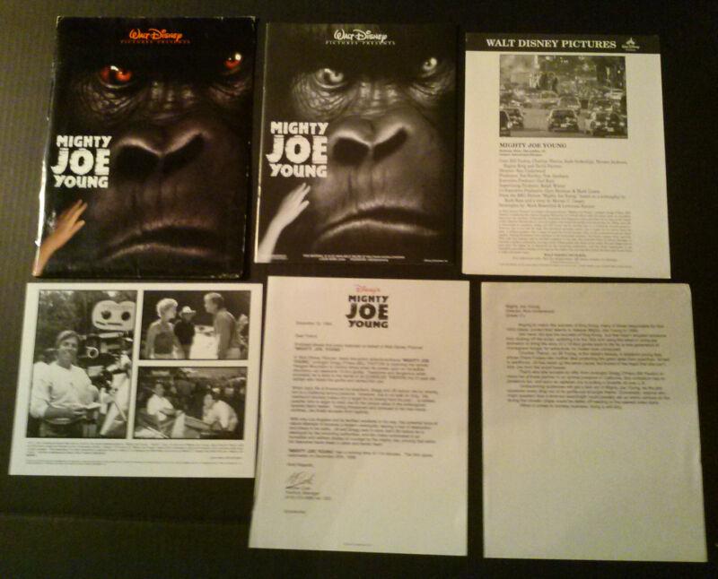 Press kit~ MIGHTY JOE YOUNG ~1998 ~Charlize Theron ~Bill Paxton ~Ron Underwood