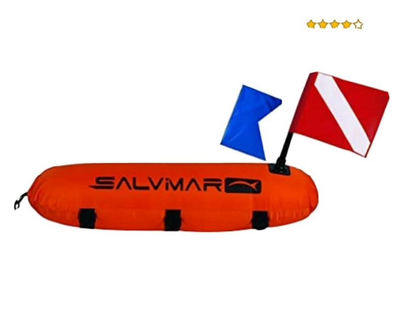 Salvimar Buoy Torpedo with Two Flags