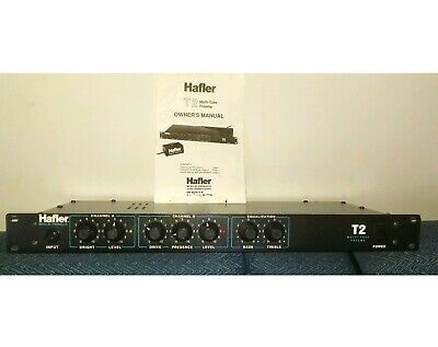 HAFLER MUSICAL PRPDUCTS  T2 MULTI-TUBE GUITAR PRE-AMP Made U.S.A for sale  San Luis Obispo