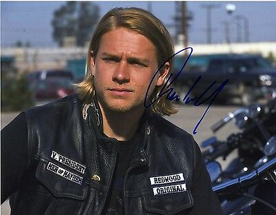 1857 Charlie Hunnam Sons Of Anarchy Soa Autographed Signed Autograph 8X10  Photo