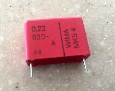.22uf 630v Wima Mks4 Capacitor 3 Pc
