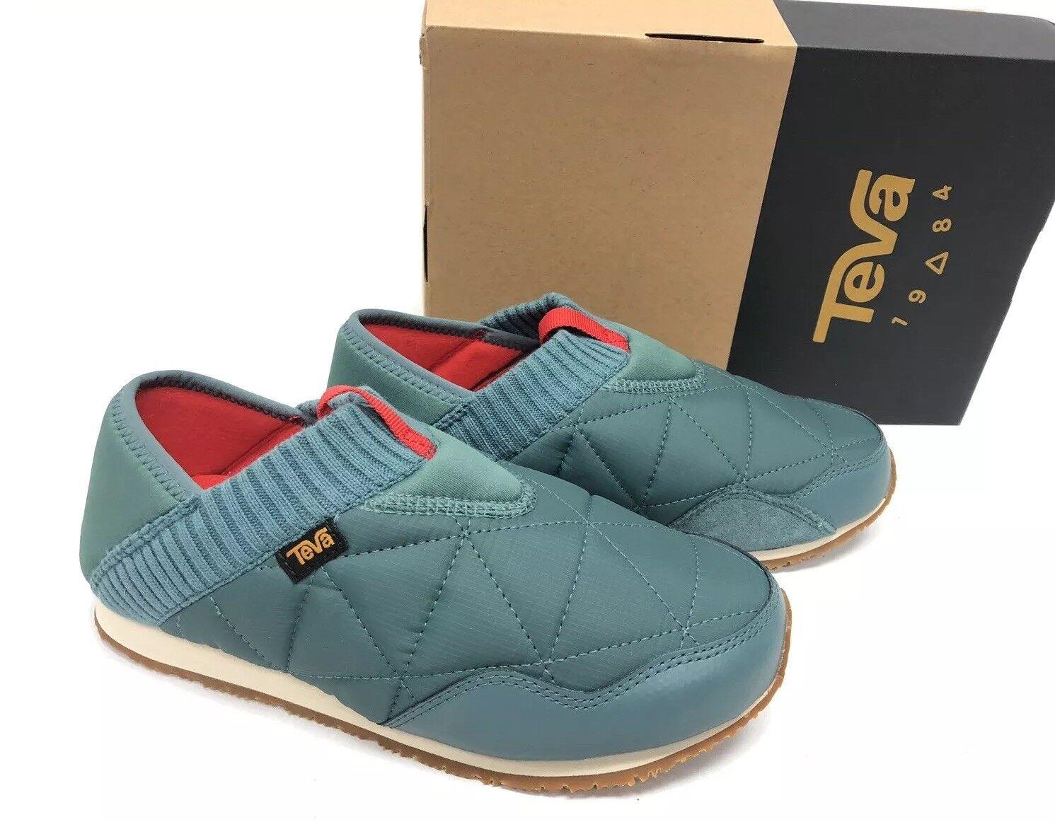 Teva Women's Ember Moc Slip-On Drop-In Slipper Sneaker North Atlantic 1018225