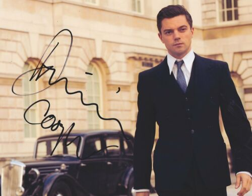 Dominic Cooper Signed Autographed 8x10 Photo Warcraft Preacher Handsome COA VD