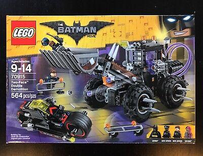 LEGO Batman Movie Two-Face Double Demolition 70915 NIB DC Comics Factory Sealed!