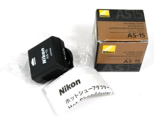 Nikon AS-15 Sync Terminal Adapter Hot Shoe to PC