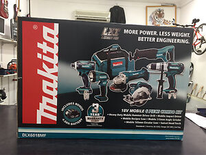 Makita LXT 18V 6 Piece Cordless Combo Kit (DLX6018MF) Liverpool Liverpool Area Preview
