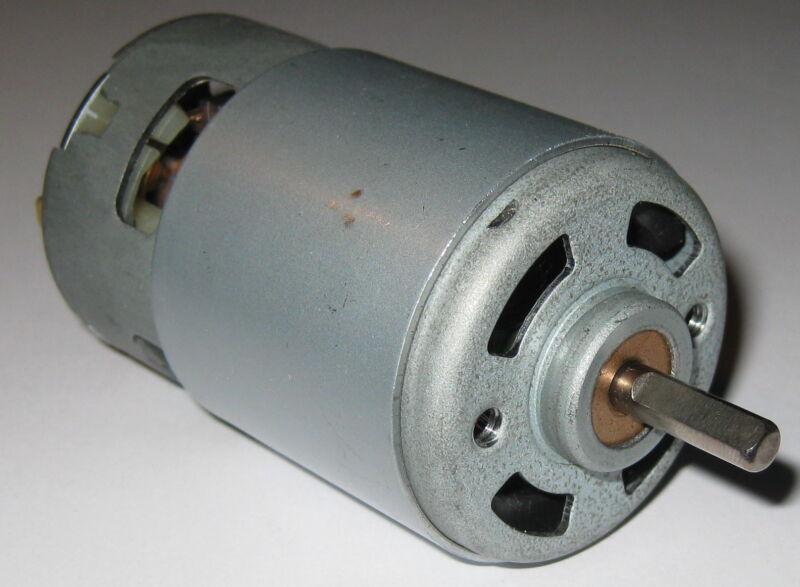 200 Watt Electric 12 VDC Hobby Motor - 25,000 RPM - High Speed Power Fan Cooled