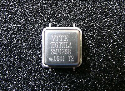 Vectron Crystal Oscillator 32.768mhz 5v Hgthla32m768 Smd Gull Wing Qty.4