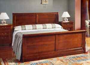 Letto camera ciliegio massiccio matrimoniale stile antico ebay - Camere da letto stile antico ...