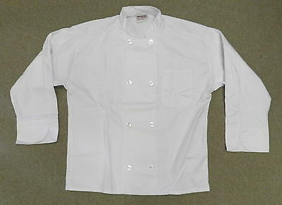 Executive Chef Coat Jacket White L Uncommon Threads Js400 Restaurant Uniform New