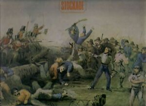 BLACK-PLUS-RED-GEORGE-GOLLA-Stockade-Eureka-Stockade-1854-Kenneth-Cook-F4-LP