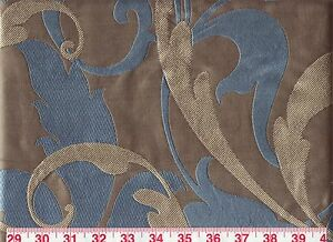 Beautiful Jacquard Fabric! American Silk Window Scroll! ~ Free Samples