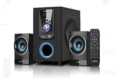 Befree 2.1 Channel Surround Sound Bluetooth Mini Stereo System Remote
